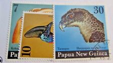 PAPUA NEW GUINEA Scott #399-401 Θ used, birds,  postage stamp set