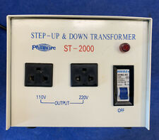 Phillmore ST-2000 Step-Up & Down Transformer. Used. Free Shipping.