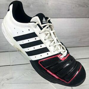 Adidas D'Artagnan IV Fencing Shoes Men's Size 12 White Black Red G17561