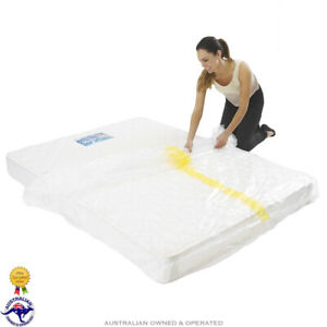 Heavy Duty Mattress Storage Bag Moving Bed Cover Self Seal for King Queen Single
