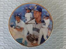 Ken Griffy Jr - 1992 Collectible Mini Plate - Seattle Thunder - Gartlan