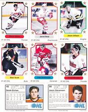 1991-92  7th INNING SKETCH  OHL   Hockey Cards Pick 10 Cards