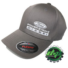 Ford Powerstroke Sombrero gorra ajustada Flex Fit Flexfit Stretch carbón L/XL