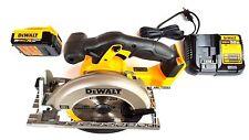 New Dewalt DCS391 20V Circular Saw, 1) DCB204 4.0 Battery,1) Charger Max 20 Volt