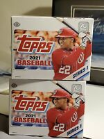 2021 Topps Series 1 Dual Box Jumbo Hobby Box Break #1 1 Random Team in 2 Boxes