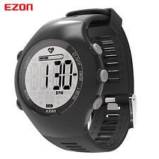 EZON Optical Sensor Heart Rate Monitor Running Watch Pedometer Sport Watch WR50m