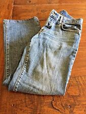 "LUCKY BRAND WOMEN'S DUNGAREES EASY RIDER BY GENE MONTESANO SIZE 2 26"" LENGTH"