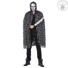 Rubies - 14219 - Zombie Cape * Kapuzencape * gelöcherter grauer Stoff *Halloween