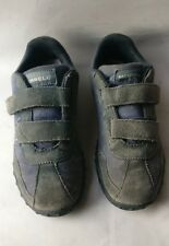 MERRELL SPRINT BLAST STRAP SUEDE KIDS NAVY BLUE TRAINERS SHOES SIZE UK 2 EU 34