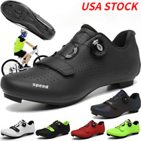 Ultralight Road Cycling Shoes Indoor Mens Pelotonshoes Bike SPD Bicycle Sneakers