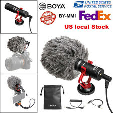 US BOYA BY-MM1 Universal Video Microphone Condensor For Nikon Canon DSLR Camera