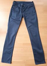 "Tommy Hilfiger Victoria mujeres Stretch Jeans Cintura 25"" pierna 32"" azul marino noche"