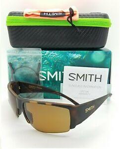 NEW Smith Captain's Choice Sunglasses Matte Havana ChromaPop+ Polarized Brown
