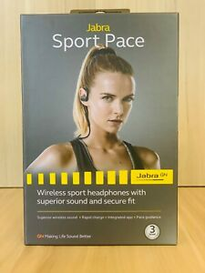 Jabra Sport pace Wireless sport headphone with superior sound and secure fit