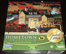 MEGA Heronim HARVEST MOON DANCE Art Hometown Collection 1000 Piece Jigsaw Puzzle