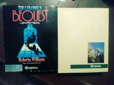 "Sierra The Colonel's Bequest in Original Box with 3.5"" & 5.25"" Floppy Disks (PC)"