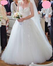 Blue by Enzoani Highland Brautkleid Hochzeitskleid, Ivory, 36, Spitze, A-Linie