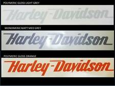 3 x HARLEY DAVIDSON style Tank decal sticker Harley chopper