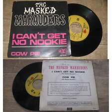 THE MASKED MARAUDERS - Cow Pie Rare French PS 7' Psych Folk Beatles 69'