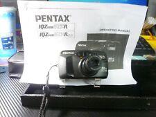 Pentax Iqzoom Ezy-R 38-70mm Zoom Lens 35mm Film Camera w/ Strap Parts or Repair