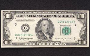 1950-D $100 Bill Federal Reserve Note C04812052A - Clean Sharp Crisp