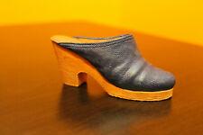 "Raine Just The Right Shoe ""Denim Blues"" miniature shoe with box and Coa- 2000"