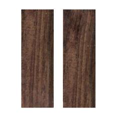 2pcs Sword Knife Handle BLackwood Wood Material Scale Slabs DIY Tool 120*40*8mm