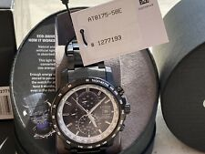 NWT Citizen AT8175-58E Eco-Drive Atomic Radio Controlled World Time Men's Watch