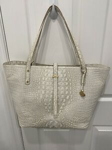 ❤️ BRAHMIN ALL DAY SHOULDER SHOPPING TRAVEL OFFICE TOTE COCONUT MELBOURNE