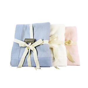 Jasmine Silk Pure Bamboo Cellular Baby Blanket (90x90cm)
