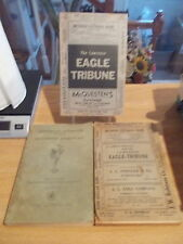 3 Vintage Methuen 1938 & 1946 & 1951 Lawrence MA Telephone Books