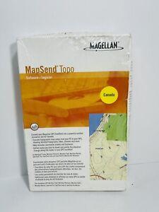 Magellan MapSend Topo Software GPS Navigation CANADA Sealed