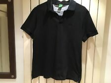 HUGO BOSS XL BLACK POLO SHIRT