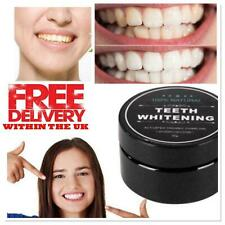 Natural Organic Activated Charcoal Tooth Teeth Whitening Powder Mint Bamboo