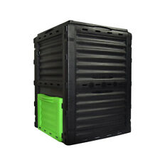 300 Litre Garden Compost Bin Eco Composters Outdoor Recycling Soil Outdoor EJWOX