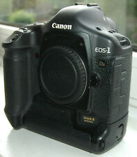 Canon EOS 1Ds mark II DSLR camera body, low shutter count but minor fault