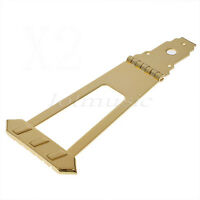 6 String Archtop Bass Guitar Trapeze Tailpiece Bridge 10mm String Space Parts