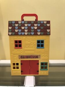 Hey Duggee Squirrel Clubhouse House Building Toy  Jazwares  HOUSE ONLY 1 Figure