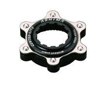 Ashima AC02 Adapter Centerlock auf IS 6-Loch Schnellspannernaben, schwarz, NEU