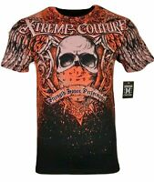 XTREME COUTURE by AFFLICTION Men T-Shirt ORTHODOX Tattoo Biker MMA Gym M-4X $40