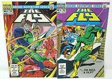 Archie Adventure Series Comics THE FLY No. 8 & 9 Dick Ayers Steve Ditko 1984 9.0