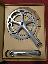 Guarnitura Bici Campagnolo Record 9 speed velocità 175 53 39 bike crankset