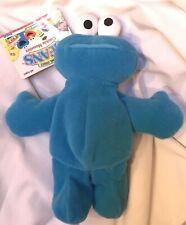 Sesame Street Beans- Cookie Monster- Tyco 1997 Collectible Plush NWT MINT