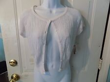 No Boundaries Sweater Cardigan Arctic White Size S (3/5) Women's NEW LAST ONE