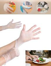 Disposable Plastic Gloves Food Natural rubber Vinyl Transparent Safety Hygiene