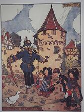Jean-Jacques Waltz (Hansi) (1873-1951) Alsace Bergheim