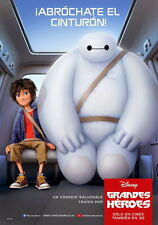 "029 Big Hero 6 - 2014 American Hot Movie Film 14""x20"" Poster"