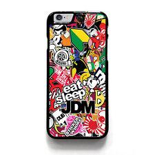 JDM STICKER BOOMS iPhone 4/4S 5/5S 5C 6/6S 7/7S Plus SE Case Phone Cover