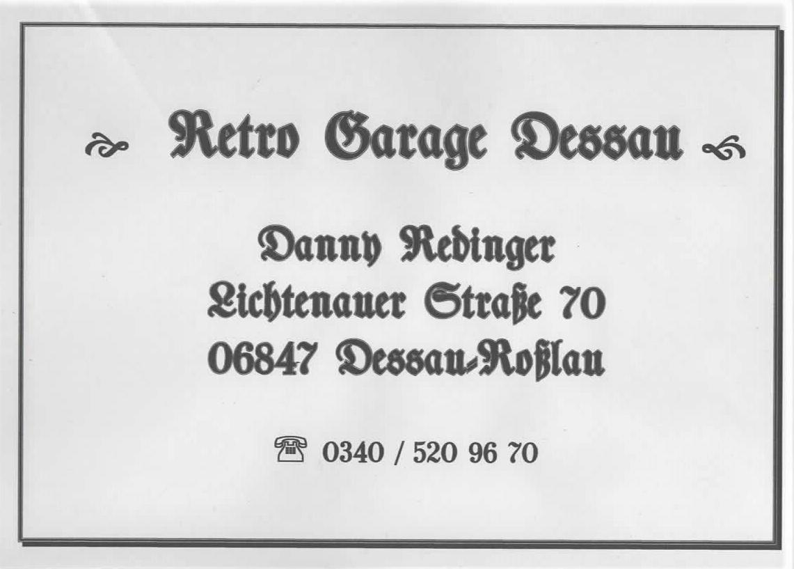 Retro-Garage-Dessau