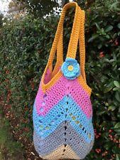 Handmade Crochet women/ladies handbag, tote bag,granny square, New